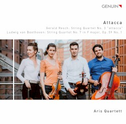 Gerald Resch: String Quartet no. 3 / Beethoven: String Quartet no. 7 in F major, op. 59 no. 1 by Gerald Resch ,   Ludwig van Beethoven ;   Aris Quartett