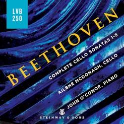 Complete Cello Sonatas 1–5 by Beethoven ;   Ailbhe McDonagh ,   John O'Conor